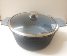 Imperial Diamong Cast Aluminum Ceramic coated non stick stock pot oven save stove top
