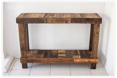 The 91204 Blog - Recycled Wood Pallet Table - We would love your comments on the 91204 blog! Thanks!!