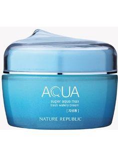 Nature Republic Super Aqua Max Fresh Watery Cream ❤ Nature Republic