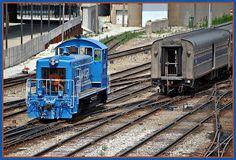 Metra Yard Locomotive: Chicago