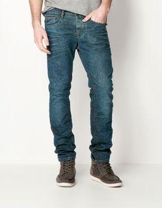 Bershka Armenia - Stonewashed slim jeans