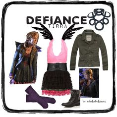 """""""Defiance Tirra"""" by adashofwhimsey on Polyvore"""