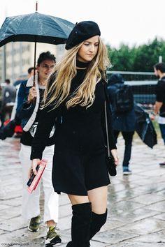 As Boinas fazem retorno triunfal ao mundo da moda   Alerta de tendência