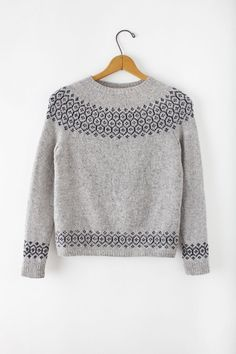 Stasis sweater. Yarn and patttern. It's been on my list for 1,000 years and its almost time.
