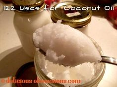 Delicious Obsessions: 122 Uses for Coconut Oil | www.deliciousobsessions.com