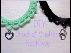 DIY: How To Crochet A Choker Necklace!