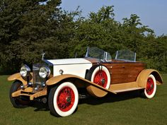1932 Rolls-Royce Phantom II Continental Boattail Tourer