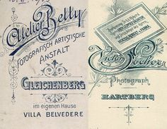 Typography from Czech Repulic Vintage Labels, Vintage Ads, Vintage Signs, Vintage Typography, Typography Letters, Villa, Type Treatments, Hand Drawn Type, Old Signs