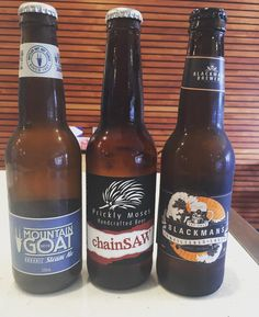 Now stocking these babies (along side of the 7 beers on tap and 30 different bottled beers!) @pricklymoses @goatbeer @blackmansbrewery #beachhotel #jucub #greatoceanroad #torquay #janjuc by beachhoteljanjuc http://ift.tt/1X8VXis