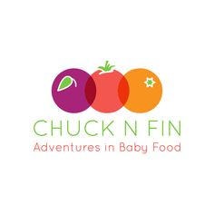 A fun logo design for Chuck N Fin Adventures in Baby Food - Sarasota's first locally grown, artisanal baby food company specializing in freshly frozen purees.