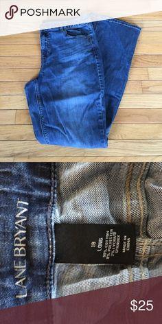 Lane Bryant jeans. 18 tall. Lane Bryant jeans. 18 tall. Lane Bryant Jeans Boot Cut