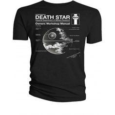 T-Shirt Haynes Star Wars - Death Star
