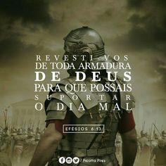 efesios 6 - Pesquisa Google Instagram Blog, Instagram Posts, Jesus Freak, Verse, My Lord, God Is Good, Gods Love, Jesus Christ, Believe