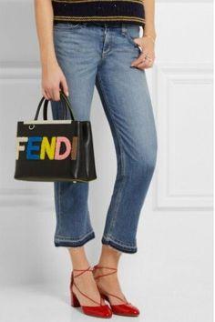 Light Washed Blue Mid Rise Denim Vintage Ankle Length Cropped Jeans