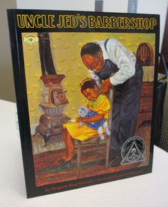 In this lesson, students listen to the book Uncle Jed's Barbershop, about an African American barber who, despite significant setbacks, saves enough money to buy his own barbershop.