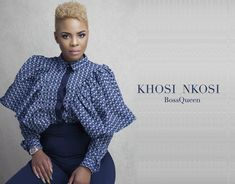 ❤️ BossQueen, Masechaba Ndlovu, in the new Khosi Nkosi Palesa Blouse. Now available at YDE African Lace Dresses, African Attire, Traditional Dresses, My Wardrobe, African Fashion, Blouse Designs, Rock, Casual Outfits, Beautiful Women