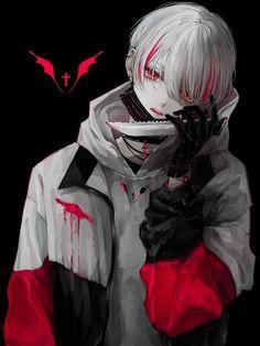 ツイッター - Everything About Manga Anime Demon Boy, Dark Anime Guys, Cool Anime Guys, Handsome Anime Guys, Hot Anime Boy, Dark Anime Art, Anime Oc, Kawaii Anime, Yandere Boy