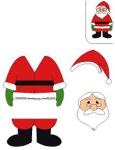 #noelbabakalıbı #kalıplar #noelbaba #santaclaus #okulöncesi #papercraft #christmas