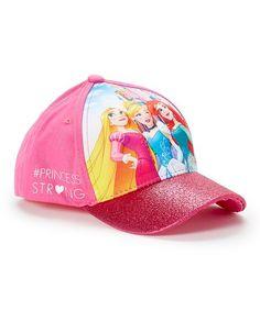 ABG NYC Disney Princess  PrincessStrong 3D Glitter Baseball Cap  095b1d1ae33d
