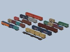 zweiteiliger Containertragwagen Typ Sggrss Metrans. Bis #EEP6 http://j.mp/Typ-Sggrss-Metrans