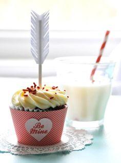 DIY Valentine's Day Cupcake