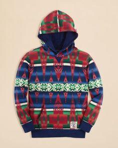 c4cc522e1 Ralph Lauren Childrenswear Boys' Southwestern Print Fleece Hoodie - Sizes  S-XL Kids - Boys - Boys 8-20 - Bloomingdale's