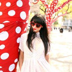 Fancy - Red Heart Sunglasses