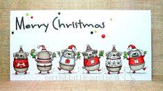 LOTV - Christmas Pugs by Katrina Bufton