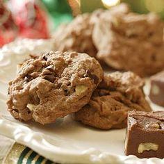 Chocolate-Almond Sugar Cookies From Better Homes and Gardens, ideas and improvement projects for your home and garden plus recipes and entertaining ideas.