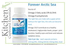 Forever Living Arctic Sea  A great source of Omega 3 and 9
