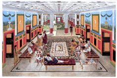 Reconstruction of a Late Roman Villa at Sepphoris