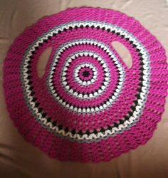 DE MIS MANOS TEJIDOS Y MAS...: Chaleco circular crochet