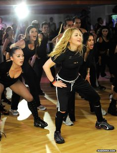Madonna - Hard Candy Fitness - Mexico City Center Launch