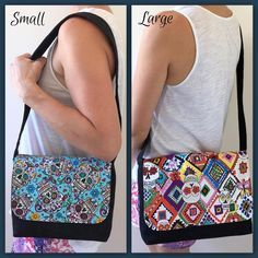 (9) Name: 'Sewing : Good-To-Go Messenger Bag Pattern