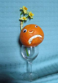 Mr Angry Orange welcomes in the new year