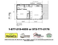 Athens Park Homes Model 176