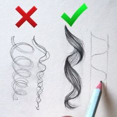 Likes, 627 Comments - Aaria Baidhow to draw curled hairollow us Lisa Cohen!Wonderful tutorial By . Observe us for extra artwork.Top Tips, Tricks, And Techniques For That Perfect drawing tips Pencil Art Drawings, Art Drawings Sketches, Girl Drawings, Drawings Of Hair, Crazy Drawings, Curly Hair Drawing, Amazing Drawings, Drawing Techniques, Drawing Tips