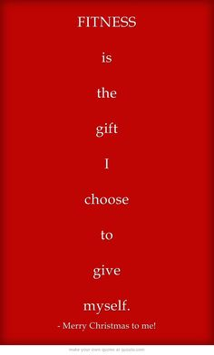 FITNESS is the gift I choose to give myself.   Come to Body Morph Gym in Ferndale, MI for all of your fitness needs! Call (248) 544-4646 TODAY to schedule an appointment or visit our website www.bodymorph.net for more information!