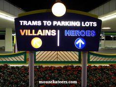 Disney's Magic Kingdom: Do you want to be a villian or a hero?!