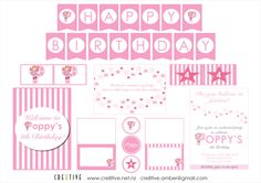 Fairy party printables Princess Theme, Fairy Princesses, Do You Believe, Business Branding, Party Printables, Wedding Stationery, Turning, Party Ideas, Birthday