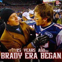 The day that changed football: On Sept. 23, 2001, Tom Brady took over for Drew Bledsoe... and began his march to become the greatest of all time