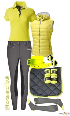 Absolutely love this lime green and grey combo :-)