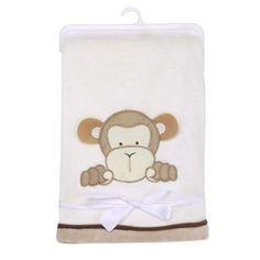 Mother & Kids 76*102cm Super Soft Polyster Baby Blanket Infant Crib Bedding Cartoon Monkey Rabbit Bear Blanket Newborn Gift For Boys Girls Blanket & Swaddling