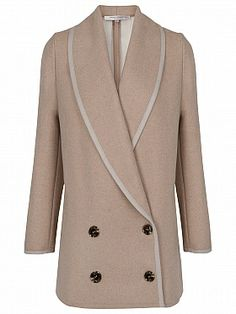 French Connection Winter Serenade Coat, Oatmeal £195 to £156 Buy at Home of Fashion. #coat #wintercoat #sale #fashion