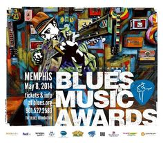 35th Blues Music Awards - Memphis - 2014