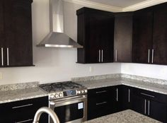Creating a fantastic contrast! Designed by Tricia Lichtle of C&M Cabinets and Granite