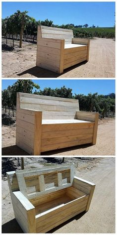 amazing patio pallet furniture idea