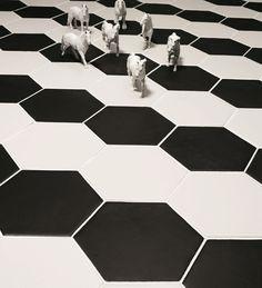 Glazed stoneware wall/floor tiles - Valmori
