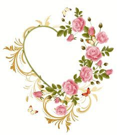 Embroidery This! - machine embroidery design heart and flowers - Many free designs and plenty of variety: http://www.embroiderthis.com/downloads1.html