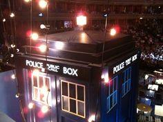 Fairy-lit TARDIS, Doctor Who Prom 2010
